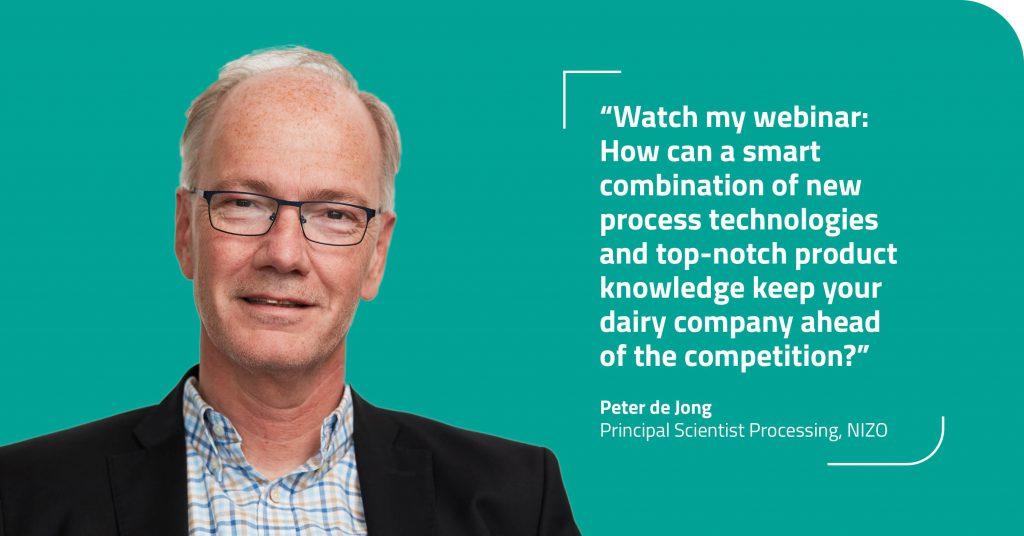 Peter de Jong - Dairy webcast series